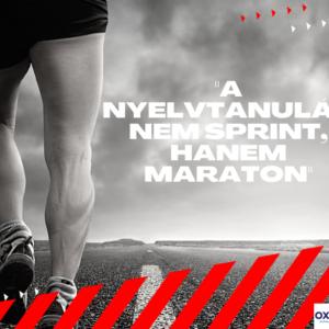 A nyelvtanulás nem sprint, hanem maraton